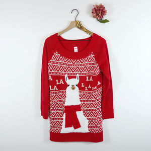 [HOLIDAY TIME] Alpaca Llama Christmas Sweater
